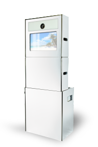 New Pearl White Open Style Photo Booth