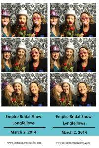 Empire Bridal Show, Longfellows, Saratoga Springs, NY 2014
