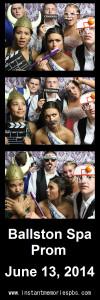 Ballston Spa Prom, Hall Of Springs, NY 6:13:2014