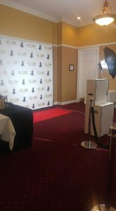 Red Carpet Personalized Backdrop